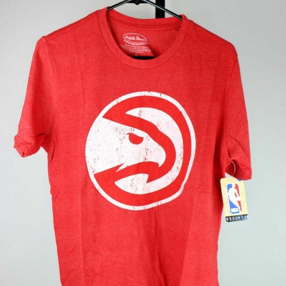 Other - Atlanta Hawks Logo Tri-blend Crewneck T-Shirt